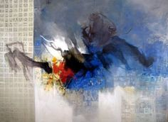 "Saatchi Art Artist Naser Nassan Agha; Painting, ""storm number 1"" #art"