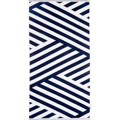 Luxe Towel in Montauk design by SunnyLIFE ($50) ❤ liked on Polyvore featuring home, bed & bath, bath, beach towels, cotton beach towels and oversized beach towels