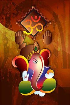 Ads Art Poster Wall decorative and Personalise Greeting cards Ganesha Painting, Tanjore Painting, Ganesha Art, Shri Ganesh Images, Ganesha Pictures, Creative Poster Design, Creative Posters, Hanuman Murti, Ganpati Bappa Wallpapers
