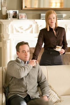 """In the year 2019, HBO's Succession puts the """"prestige"""" in prestige television. Centered around Logan Roy, the patriarch and puppeteer of both the fictionalized """"Waystar Royco"""" media conglomerate and his dysfunctional family of hopeful successors, the show zeroes in on the claustrophobic world of a New York elite subset, filling the Billions-sized hole in television's traditional offseason. I caught the first season of the show last summer, though now HBO subscribers have had a year to get acqua Brown Blazer, Tweed Blazer, Sarah Snook, Matthew Macfadyen, 90 Day Fiance, Victoria, Golden Child, Rachel Comey, Suit And Tie"""