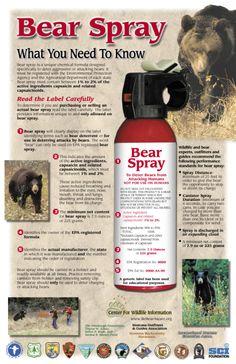 Bear spray - Wikipedia