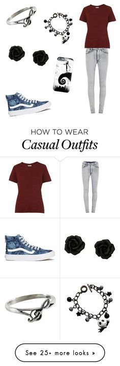 """""""Casual"""" by panicatthemychemicalromance on Polyvore featuring Cheap Monday, Whistles, Vans and NOVICA"""