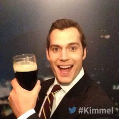 """@JimmyKimmelLive!: Backstage at #Kimmel - NEW show tonight with Henry Cavill #BatmanvSuperman 11:35|10:35c #ABC"" #HenryCavill #Superman"