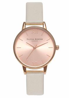 Olivia Burton Midi Dial Watch - Mink & Rose Gold