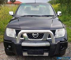 2008 NISSAN NAVARA D40 ST-X TURBO DIESEL 4X4 6SPD REPAIRABLE LIGHT DAMAGE DRIVE  #nissan #navara #forsale #australia