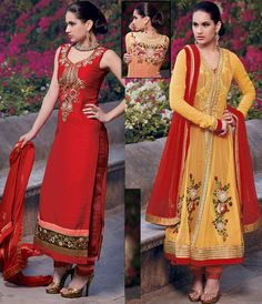 Maroon Middle East Fashion Design