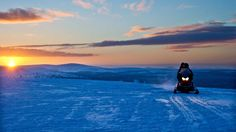 The polar night, or kaamos, is a magical period in Lapland. The blue light of…