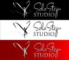 SoloStep Studio logo in 3D.