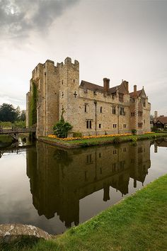 The Hever Castle ~ began as a country house, built in the 13th century, and the childhood home of Anne Boleyn in Kent, England.