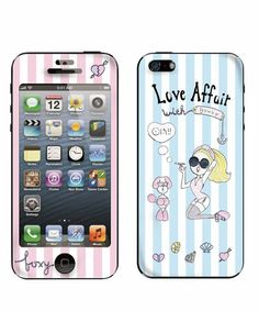 Goocy Gizmobies of (gizmo beads) (Gusu~i) × Gizmobies / Love Affair [iPhone5 only Gizmobies] (Mobile Case / Cover) | stripe