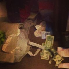 This is what happens when you have a puppy, money=food