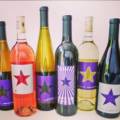 This years line up of Purple Star Wines #starsalign #purplestarwines