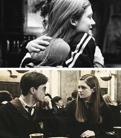 Harry and Ginny Harry James Potter, Harry And Ginny, Harry Potter Films, Harry Potter World, Ginny Weasley, Hermione, Hogwarts, Remus And Tonks, Fans D'harry Potter