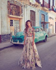 """2,000 Likes, 95 Comments - SUZANNE HARWARD (@suzanneharward) on Instagram: """"HAUTE HAVANA • @farewellfiance featuring @suzanneharward gowns in Cuba - now on the blog! Click the…"""""""