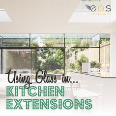 Is your kitchen feeling dated? Have you considered a modern contemporary kitchen. The beauty of this style ofkitchens is found in their sleek clean lines, geometric forms and function. #kitchendesign #contemporarykitchen #eosrooflights