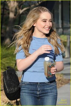Sabrina Carpenter's Music is Inspired by 'True Emotions': Photo #933139. Sabrina Carpenter is all smiles while arriving at the Facebook building on Monday (February 22) in Los Angeles.    The 16-year-old Girl Meets World star recently…
