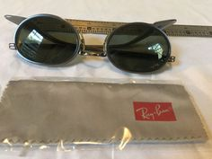ff0691b196 Vintage Matrix Spoons 1990 Ray Ban Sidestreet Oval W2893 Sunglasses Odd  Sidecups  fashion  clothing  shoes  accessories  vintage   vintageaccessories (ebay ...