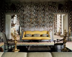 """The Duchess of Uzès's salon in """"The Art of the Interior: Timeless Designs by the Master Decorators"""""""