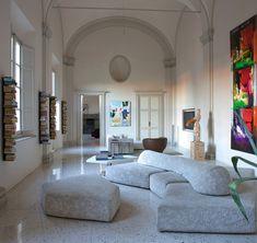 Modular sofa / contemporary / fabric - ON THE ROCKS by Francesco Binfaré - edra - Videos