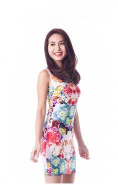 DIANDRA PRINTED DRESS
