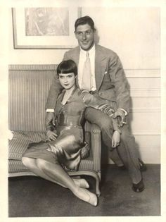 Louise & her husband (from 1926 - 1928).