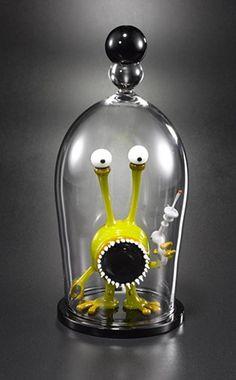 Alien Bell Jar, 2011, Joe Peters Glass