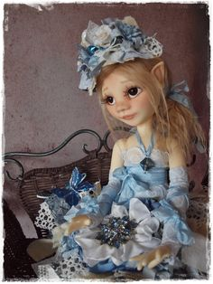 My very first bjd msd  Elf Flower By Kim Arnold  www.bjdoutfitsthetrinketbox.com