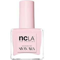 NCLA x Sivan Nail Lacquer (¥1,830) ❤ liked on Polyvore featuring beauty products, nail care, nail polish, beauty, nails, makeup, fillers, formaldehyde free nail polish, ncla nail polish and ncla