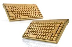 You will never want to type on plastic again. - http://noveltystreet.com/item/998/