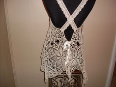 Hey, I found this really awesome Etsy listing at http://www.etsy.com/listing/150212933/gypsy-boho-vintage-crochet-lace-wedding