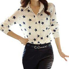 Partiss Women Spring Star Pattern White Shirt,M,White Partiss http://www.amazon.co.uk/dp/B00UN7DWVO/ref=cm_sw_r_pi_dp_u6I4wb0MJ6J19