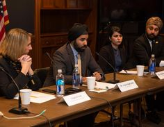 """The event was centered around a panel discussion about the misconceptions that many people have about the Sikh faith and fear of """"Muslim-looking"""" communities."""