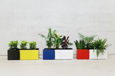 Blumentöpfe - FANBLUME 60 - ein Designerstück von nicewaste bei DaWanda