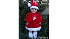 Craft Gossip - http://sewing.craftgossip.com/tutorial-dolls-santa-outfit-from-2-dollar-store-stockings/2014/12/07/