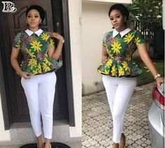20+ Best Collection of Casual Ankara Styles for weekend - Reny styles