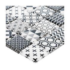 Mozaika SHAKER DECOR 30 x 30 ARTENS - Mozaiki - w atrakcyjnej cenie w sklepach Leroy Merlin. Leroy Merlin, Quilts, Blanket, Decor, Blankets, Patch Quilt, Kilts, Decorating, Log Cabin Quilts