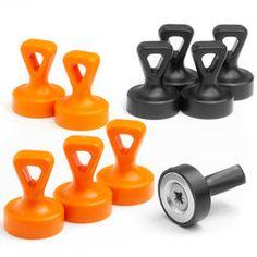 Praktische Haftmagnete mit griffiger Öse aus Kunststoff Chalk Markers, Magnets, Surface, Canning, Metal, Home Canning, Conservation
