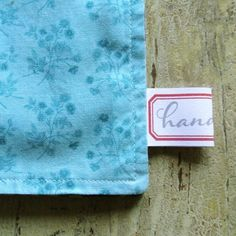 How to make handmade labels