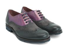 John updates the classic wingtip brogue with a lighter, slimmer Angel sole…