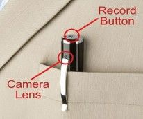 Spy Cam Pen. Someone should get this for me