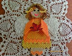 Autumn Angel by angelsandcrafts on Etsy, $10.00