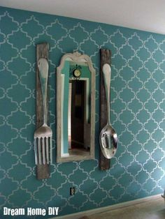 Moorish Room | Moorish Trellis Stencil