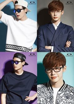 Lee Jong Suk Shows off His Style in Oakley Eyewear