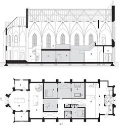 Stone Church Conversion Plan Section
