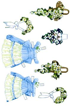Paper Dolls~The Bride Doll - Bonnie Jones - Picasa Web Albums* 1500 free paper dolls for small Christmas gits and DIY for Pinterest pals The International Paper Doll Society Arielle Gabriel artist ArtrA  Linked In QuanYin5 *