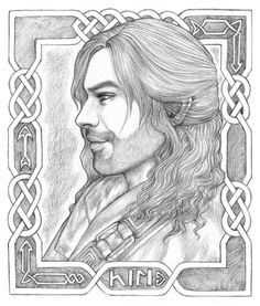 Kili - At your service by Ingvild-S: I'm more a Fili-follower than Kili, but this is s great sketch.