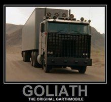 Goliath from Knight rider Vintage Tv, Vintage Trucks, Custom Trucks, Custom Cars, Classic Trucks, Classic Cars, Classic Tv, Kitt Knight Rider, 80 Tv Shows