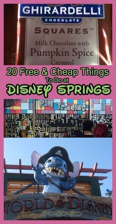 20 Free & Cheap Things to Do at Disney Springs -
