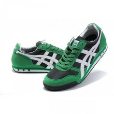 low priced 472d4 a0928 2012 Asics Onitsuka Tiger ULTRAMATE 81 Running Shoes Green White Black