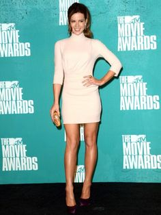 Kate Beckinsale is pretty in pink!